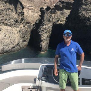 Daskalakis Sea Services, Mooring - Thirasia - Santorini.