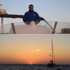Yannis Daskalakis Skipper in Santorini & Thirasia