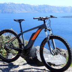 E-bikes Explore Thirasia - Santorini