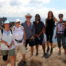 walking Tours on Thirasia Island across Santorini